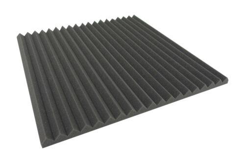 Akustikschaumstoff Black Dreieck Lamellen Profil 3 cm Wave Panels Schallabsorber