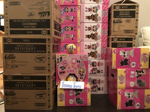 LOL Surprise Dolls Confetti Pop Series 3 Wave 2 IN HAND 100/% Authentic From MGA