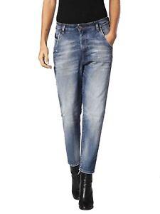 Bestellung attraktive Farbe exquisite handwerkskunst Diesel Fayza EVO 084DD Damen Sweat Jeans Hose Boyfriend | eBay