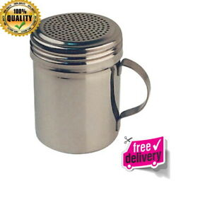 Stainless Steel Shaker with Handle 2pcs 10 oz