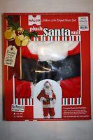 Christmas Halco Plush Santa Claus Suit Complete Costume Size 50-56