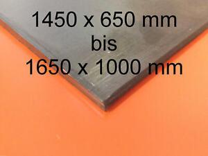 Stahl schwarz 2000 mm lang 0,75 mm Feinblech Glattblech Stahlblech Tafel DC01-A