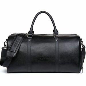 74cfe9fd0a4a Men Genuine Leather Outdoor Gym Duffel Bag Travel Weekender Overnight  Luggage