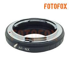 AR-NX Konica AR Lens to Samsung NX Mount Adapter Ring NX5 NX10 NX11 NX100 NX200