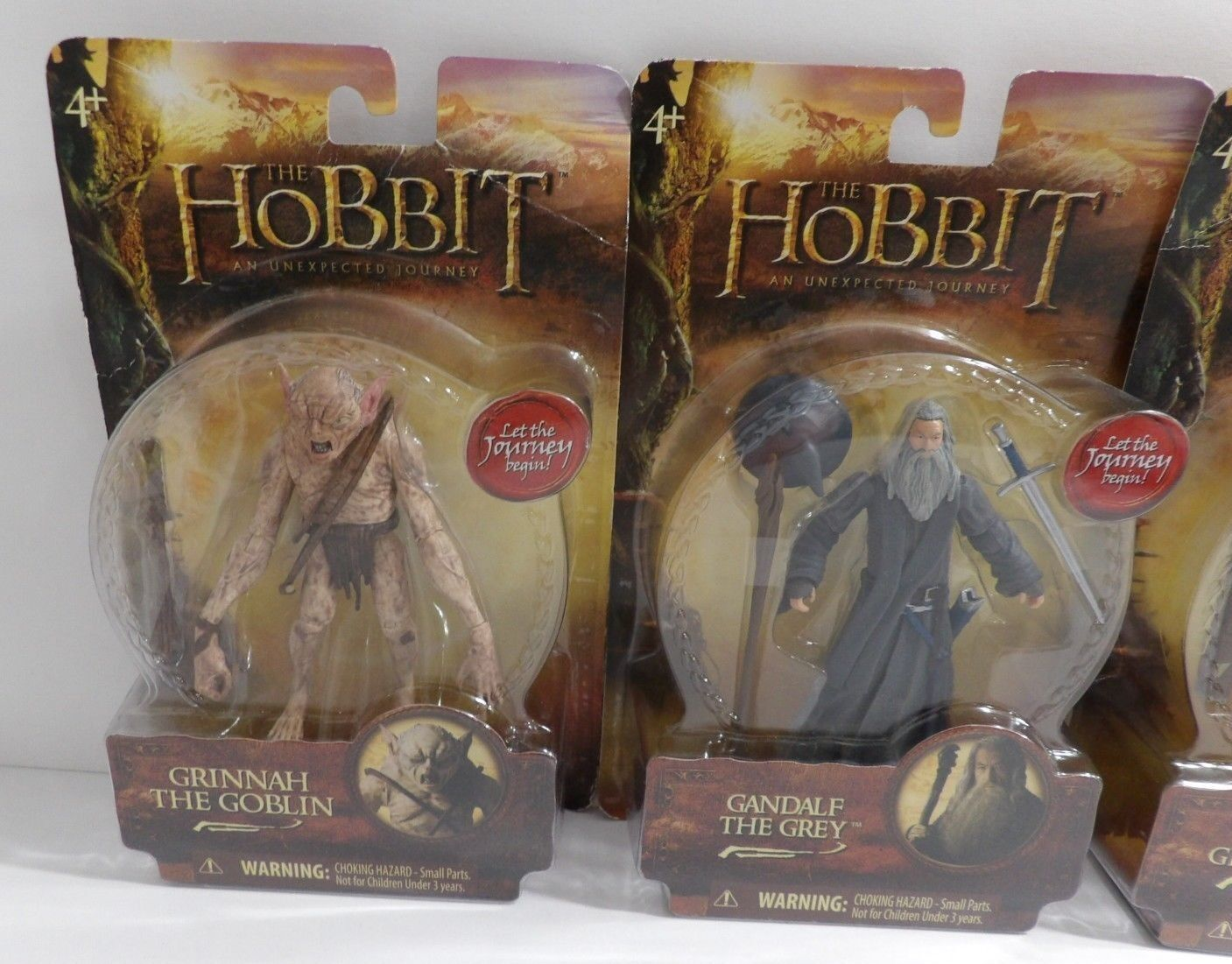 The Hobbit An Unexpected Journey Figures Lot Thorin Thorin Thorin Legolas Gandalf Grinnah 535835