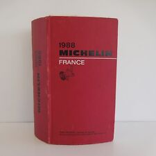 Guide MICHELIN France 1988