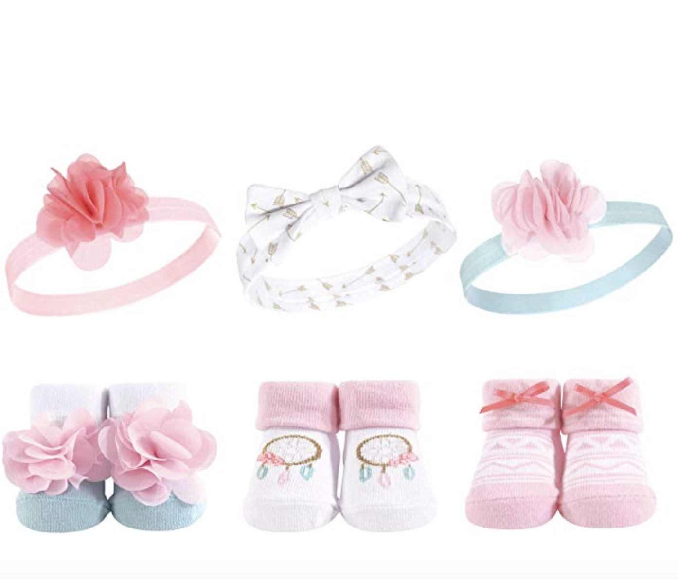 NEW BABY 3pc GIFT SET shoes ears headband 1st birthday mini top