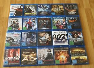 20x-Blu-ray-Filme-96-Hours-007-Skyall-Thor-Spiderman-2-Westler-Mavel