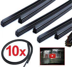 10-x-700mm-Wischergummis-fuer-BOSCH-AEROTWIN-Ersatzgummi-Scheibenwischergummi