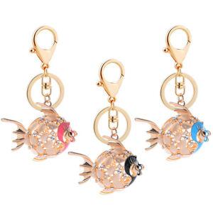 FT-Fashion-Alloy-Cartoon-Fish-Shiny-Rhinestone-Key-Chain-Keyring-for-Car-Bag-Ne