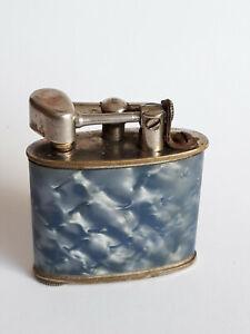Briquet à Essence anonyme à Bras Levier, Modèle Art-Déco irisant, Années 1925-30