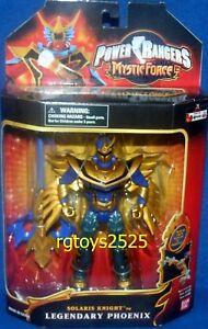 Le chevalier Solaris Force Mystic Force de Power Rangers devient le nouveau sceau d'usine légendaire de Phoenix
