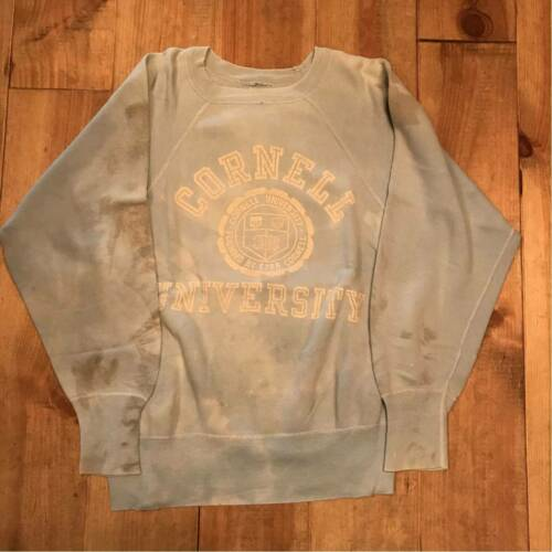 Sweatshirt 60s Vintage CORNELL UNIVERSITY Men's To