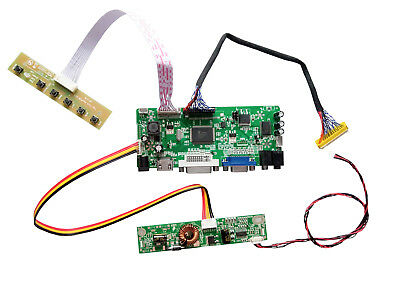 LCD LED LVDS screen Controller Driver Board Kit for M270H1-L01 HDMI+DVI+VGA
