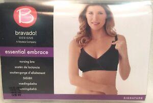 b858da9e14 NWT~34B C~Bravado Designs THE ESSENTIAL EMBRACE NURSING BRA Black ...