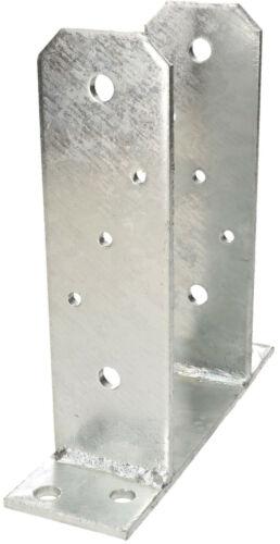 KOTARBAU U-Pfostenträger 160 mm Bodenplatte Pfostenträger Anker Aufdübeln U-Form