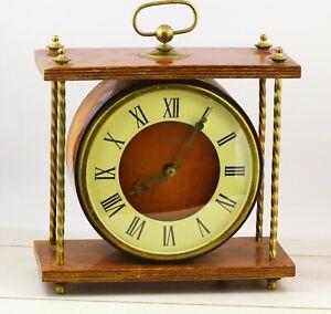 Rare USSR (Soviet) Vesna table mantel collectible mechanical clock