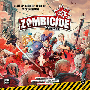 Zombicide: 2nd Edition miniatures kickstarter