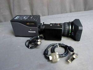 Panasonic-AK-HC1500G-Multi-Purpose-HD-Box-Camera-amp-Fujinon-HAs18x7-6BMD-DSE-Lens