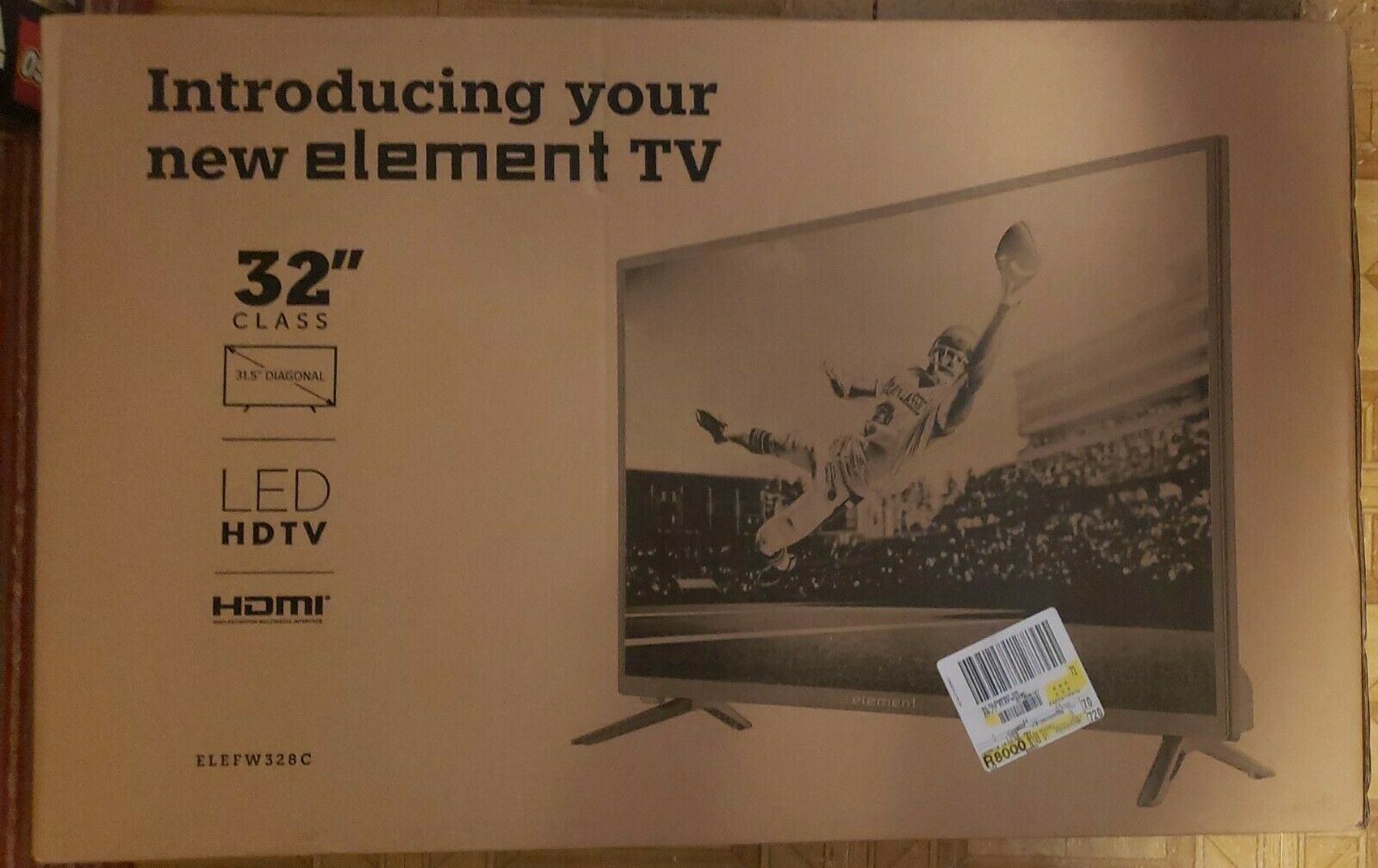 Element 32 TV HDTV LED 720p ELEFW328 - C307 - New In Box. Available Now for 299.95