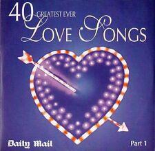 40 GREATEST EVER LOVE SONGS: PART 1 - PROMO CD (2003) ALISON MOYET, DEACON BLUE