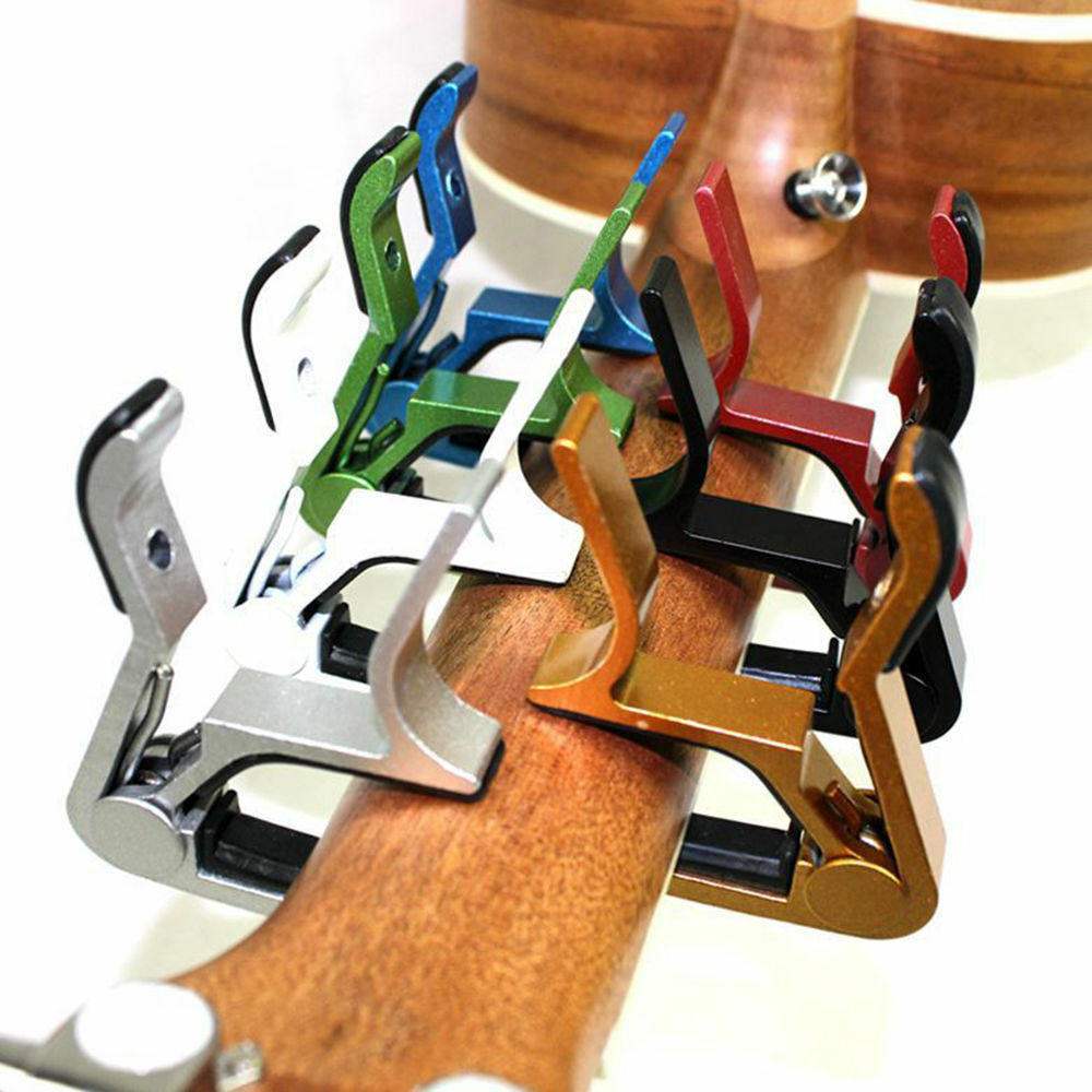 NEW 1Change Tune Clamp Key Trigger Capo Acoustic Electric Guitar Accessories LK 3