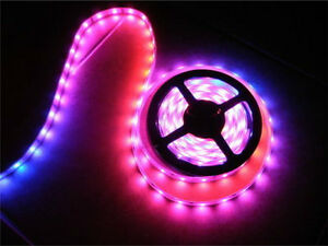 Details About 12v Volt Led Crazy Lights Tape Rope Lighting Multi Colored Chasing Only