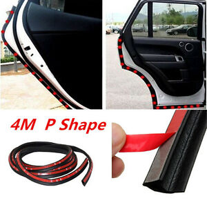 Car RV Truck Door Bottom Side Rubber Seal Edge Trim P Shape All Weather By Yard