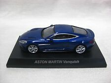 1:64 Kyosho ASTON MARTIN Vanquish Blue Diecast Model Car