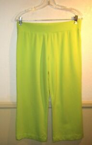 Women-039-s-CHRISTINE-ALEXANDER-Citrus-Modal-Blend-Cropped-Pants-Size-M