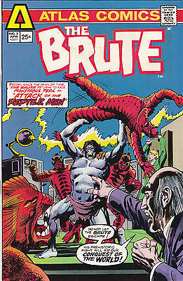 Other Bronze Age Comics The Brute #2 Vf/nm 1975-atlas