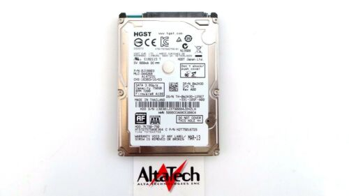 Dell WJH3D 750GB 7.2K SATA 2.5/'/' 3G HGST HDD Hard DriveFast Free Shipping