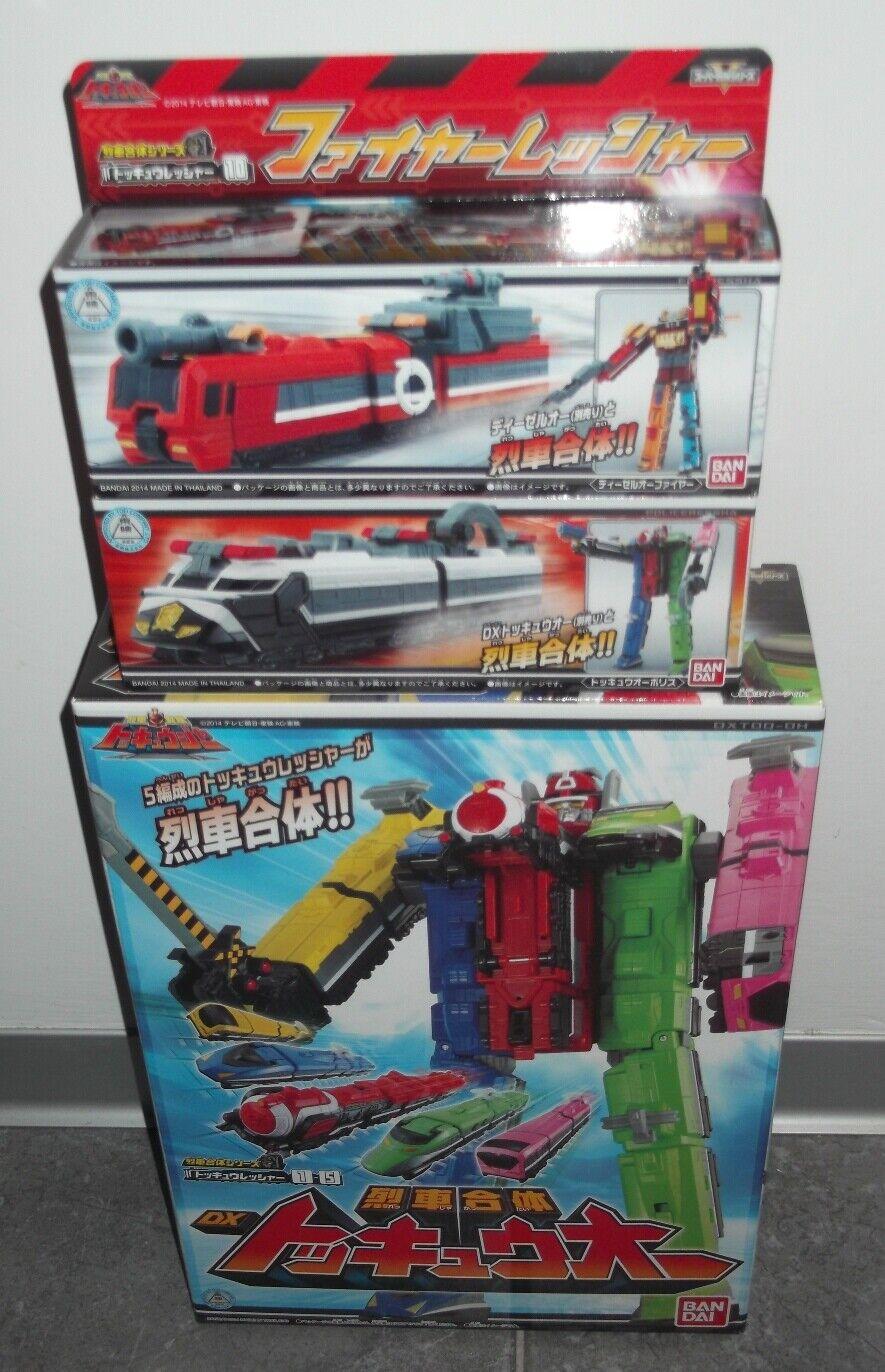 BeAI Dx Tokkyuger  ToQger ToQ-Oh energia Rangers Megazord Sentai  fino al 60% di sconto