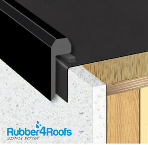 Kerb Upstand Edge Trim For Epdm Rubber Roofing U Pvc Ebay