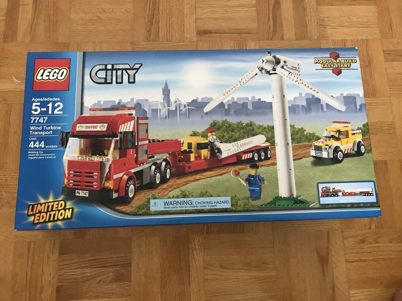 LEGO LEGO LEGO città 7747 Wind Turbine Transport b19e0e - remo