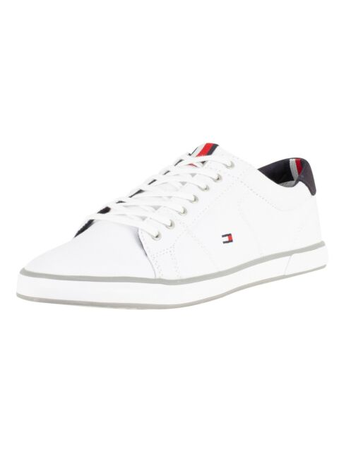 fashion styles top brands top brands Tommy Hilfiger Harlow 2D FM0FM00597100 white trainers for sale ...