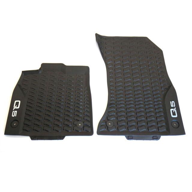 Audi Premium Textilfußmatten Q5 80B061275 MNO vorn Stoffmatten Fussmatten Matten