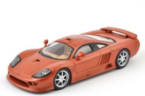 DieCast-Modellauto-1-43-Agostini-Saleen-S7-Kupfer-braun