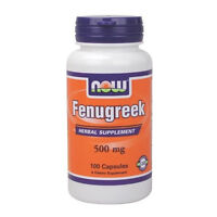 Fenugreek 500 Mg 100 Caps By Now Foods