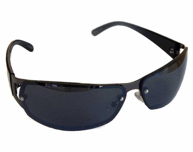 Sportbrille Sonnenbrille Schwarz Black verspiegelt Motorradbrille Sunglasses M12
