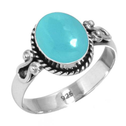 925 Sterling Silver Gemstone Ring Fait Main Bijoux Taille 5 6 7 8 9 10 11 12 13 WX6