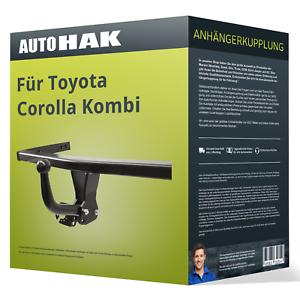 Starre Anhängerkupplung für TOYOTA Corolla Kombi 01.2002-12.2007 Typ E12 NEU AHK
