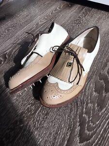 RARE FootJoy Classics Cream Leather