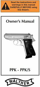 walther ppk ppks ppk s pistol owners instruction and maintenance rh ebay com