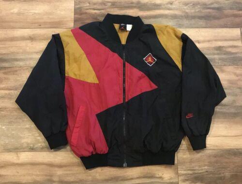 1992 Air rompevientos mediana Talla 7 Vii para Cardinal Nike Jordan Chaqueta hombre R1wxR