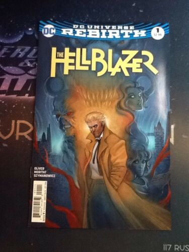 11810 Hellblazer #1 2016 DC Comics Rebirth VF//NM