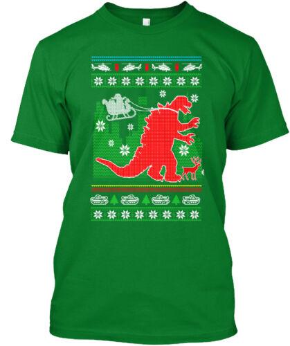 Godzilla Santas New Helper Standard Unisex T-shirt