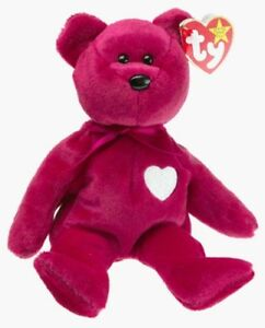 4ddf0aa9d11 TY Beanie Baby -  Valentina  - Very Rare with Tag Errors - Very Good ...