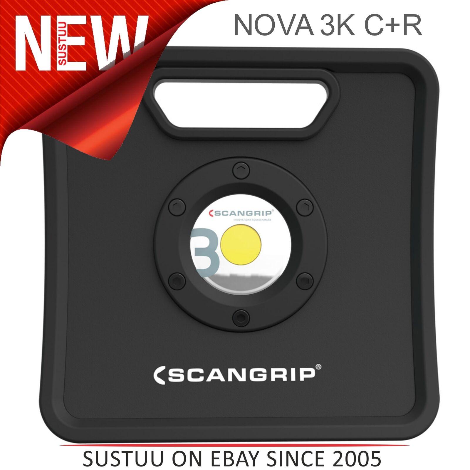 SCANGRIP Nova 3K C  R 3000 Lm │ S/N travail lumière │ Lm système double │ haute efficacité │ IP67 eb52c2