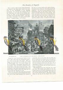 Southwark-Fair-Book-Illustration-Print-1934